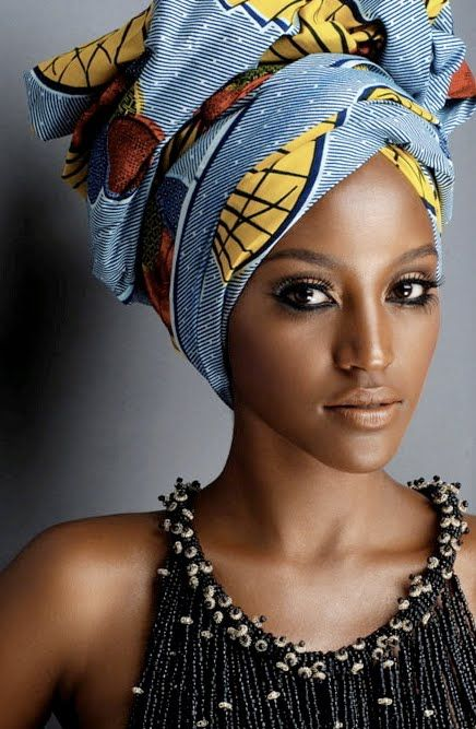 comment nouer foulard africain