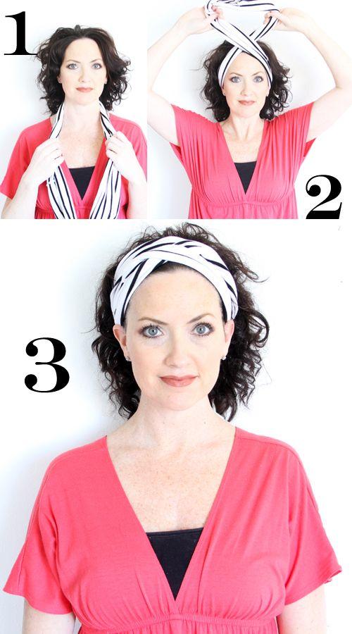 comment nouer foulard turban