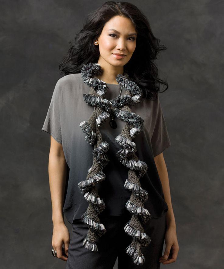 comment tricoter echarpe ruban