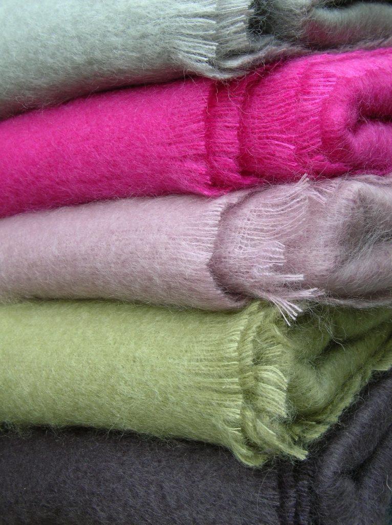 Laine et tissu mohair caracteristiques