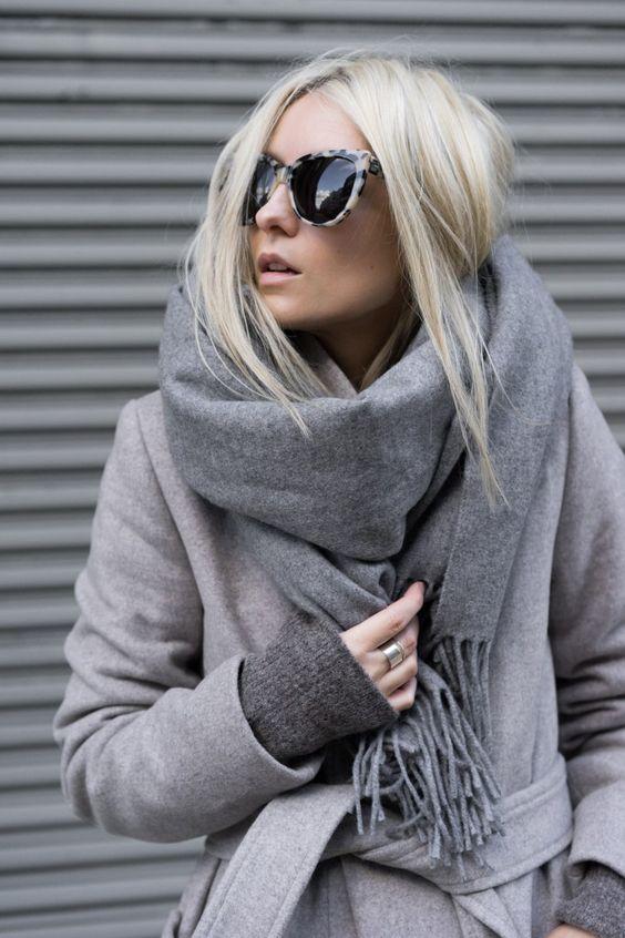 Comment nouer foulard rectangulaire