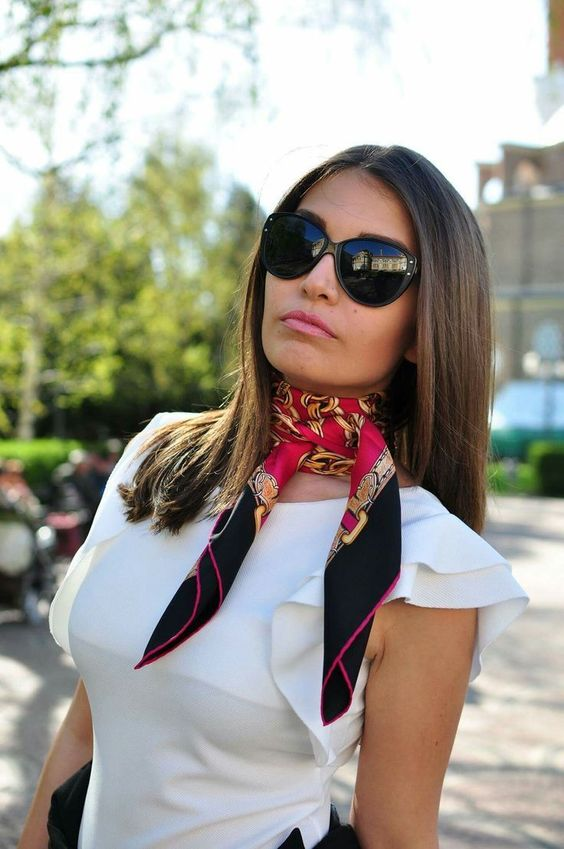 vente pas cher nouveau concept dernier Noeud de foulard et écharpe