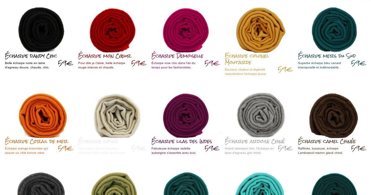 Echarpe en laine d Agneau Lambswool 6d272955da4